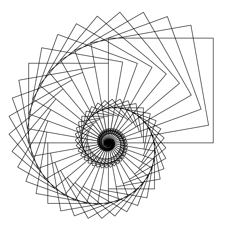 Drawing Lines Using Python : Turtle graphics circle and square